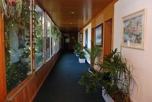 מסדרון מלון הולצמן