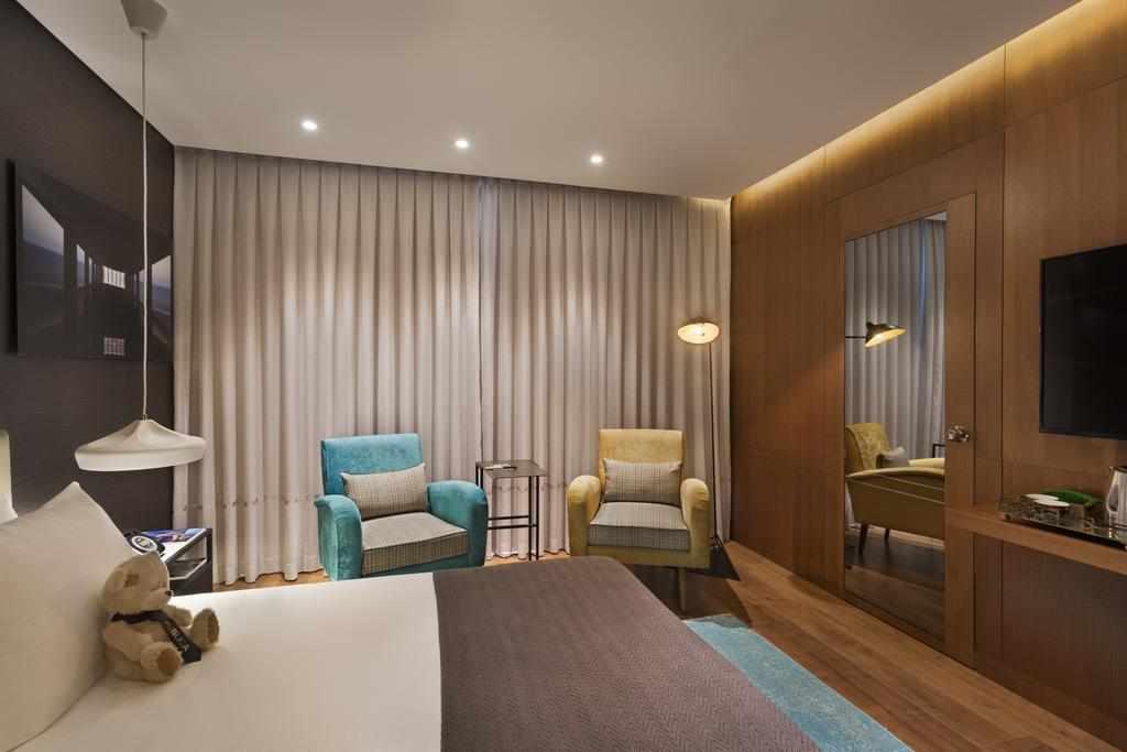 חדר בבית מלון פאבליקה